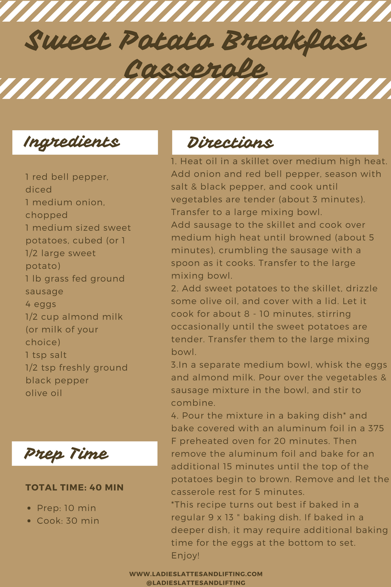 Sweet Potatoe Cas Recipe